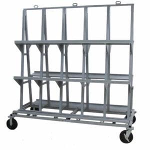 Heavy Duty Backsplash Cart - HDBSC8472