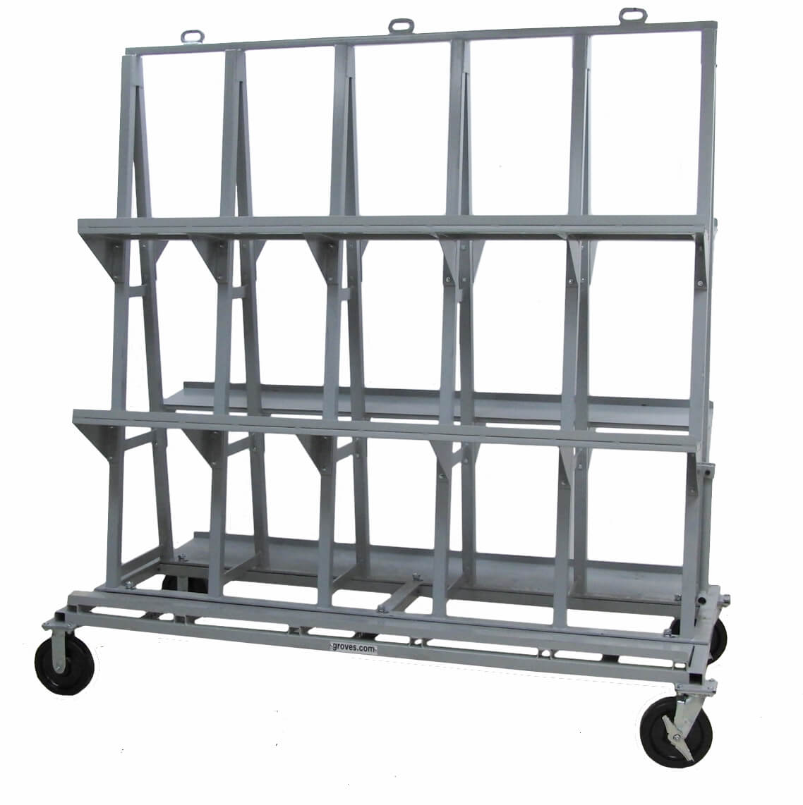 Heavy Duty Backsplash Cart – HDBSC8472