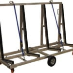 "Light Weight Aluminum Cart 72"" Long"