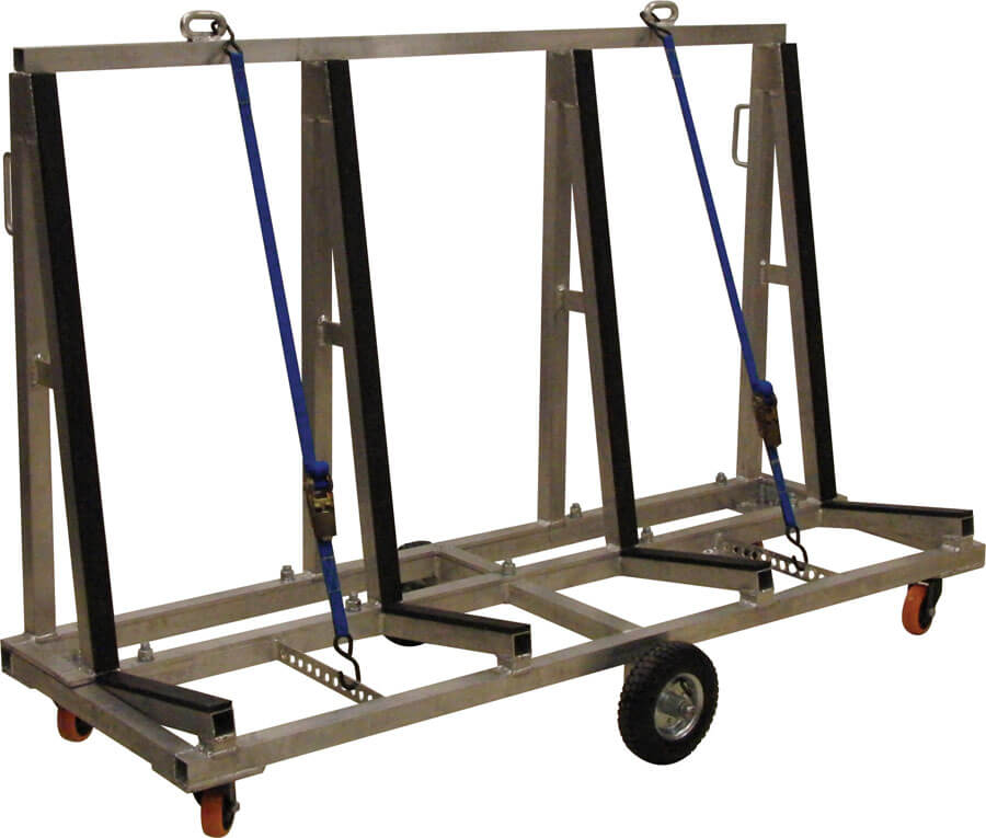 Light Weight Aluminum Cart 72″ Long – LWAC-72