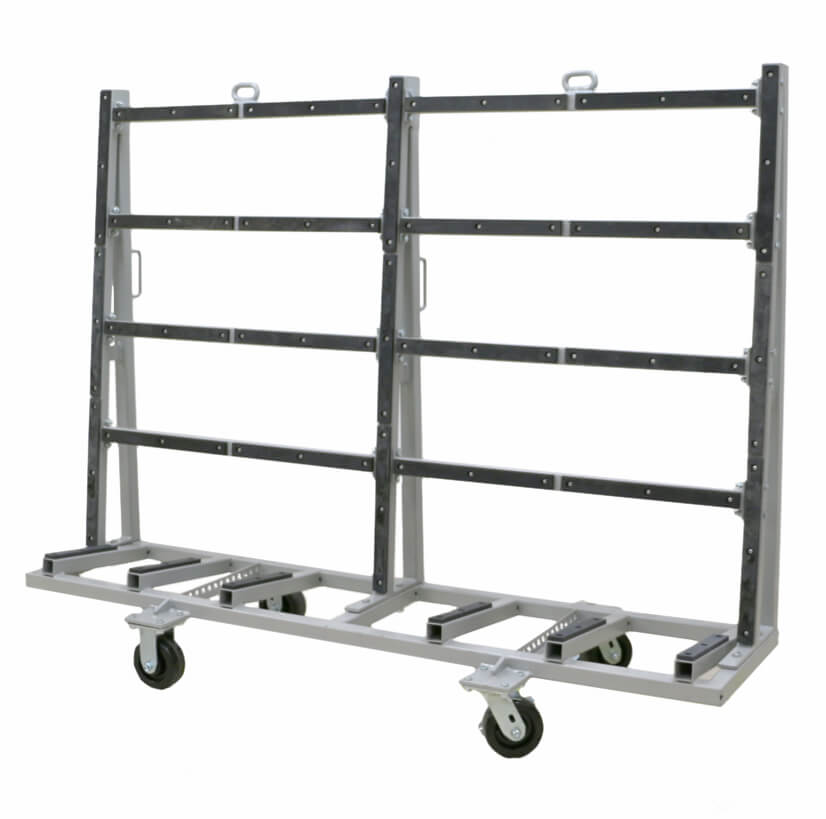 Single Sided Shop Cart – SSSC-7248